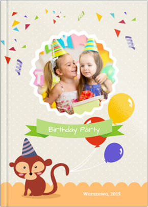 Fotoksiążka Birthday Party