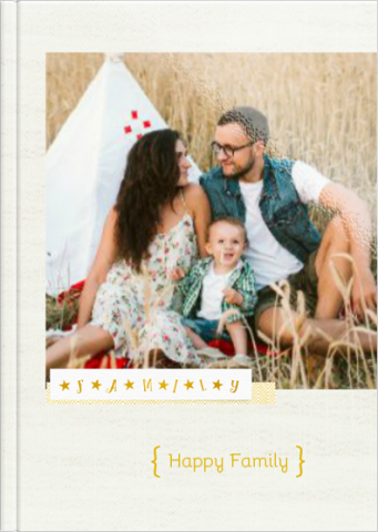 Fotoksiążka Happy Family
