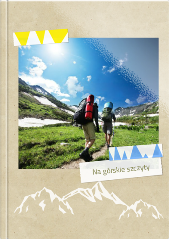 Fotoksiążka Na górskie szczyty