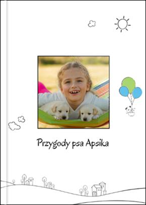 Fotoksiążka Przygody psa Apsika