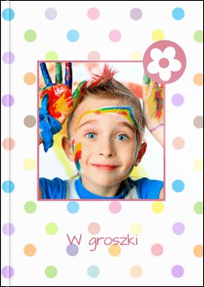 Fotoksiążka W groszki