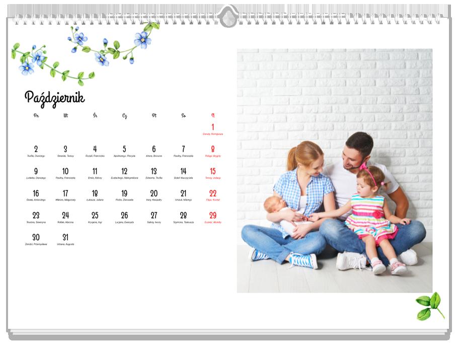Fotokalendarz Bukiet wspomnień