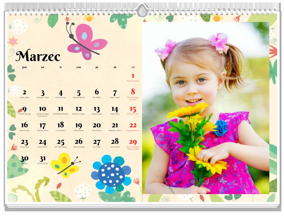 Fotokalendarz Jak w bajce