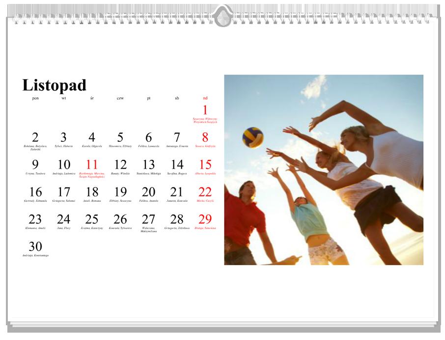 Fotokalendarz Klasyczny