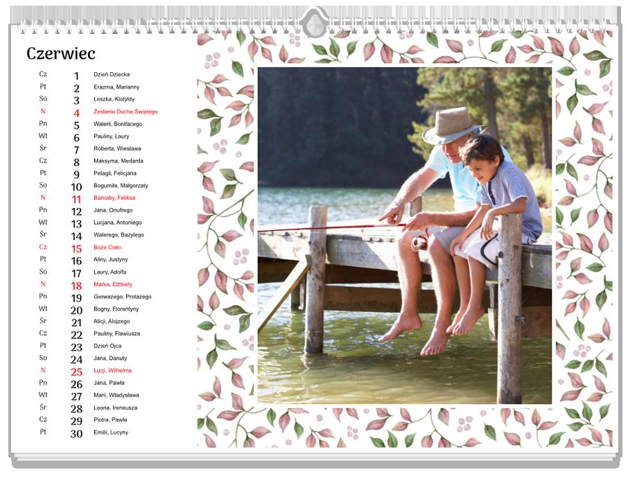Fotokalendarz Kwiatowy rok