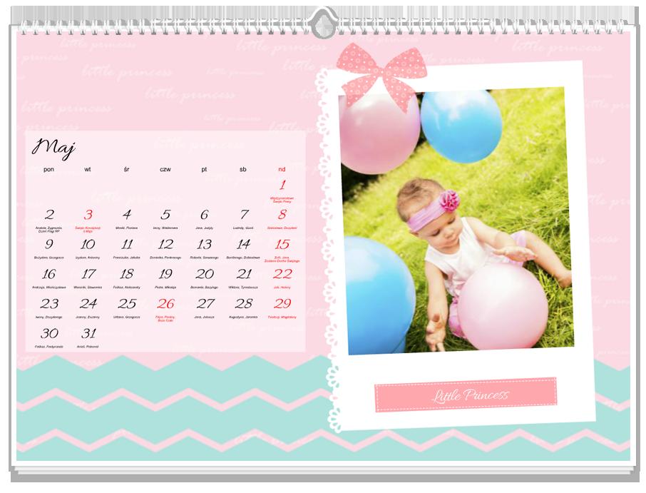 Fotokalendarz Little Princess