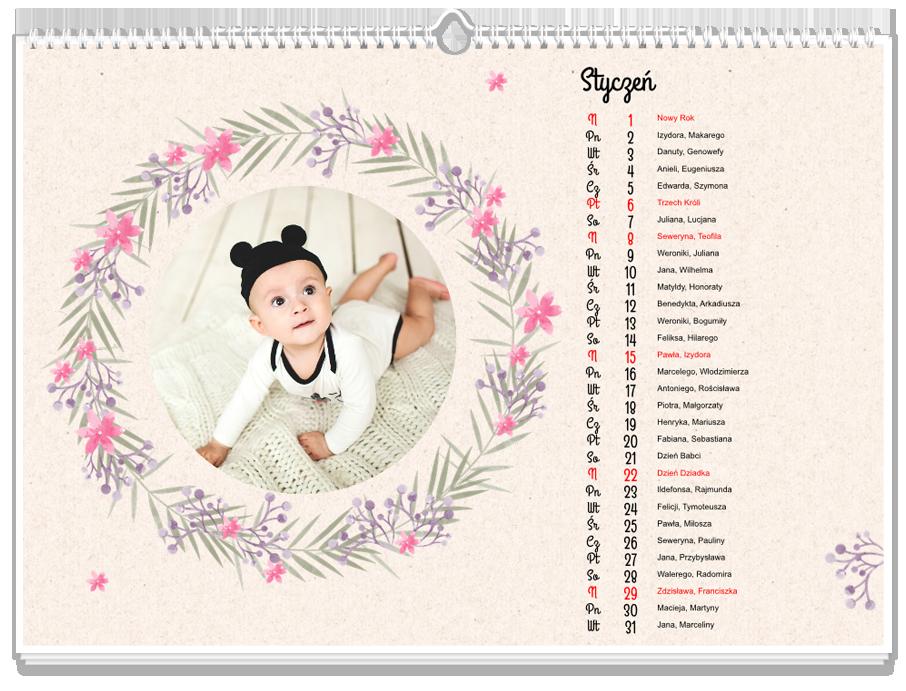 Fotokalendarz Lovely Flowers