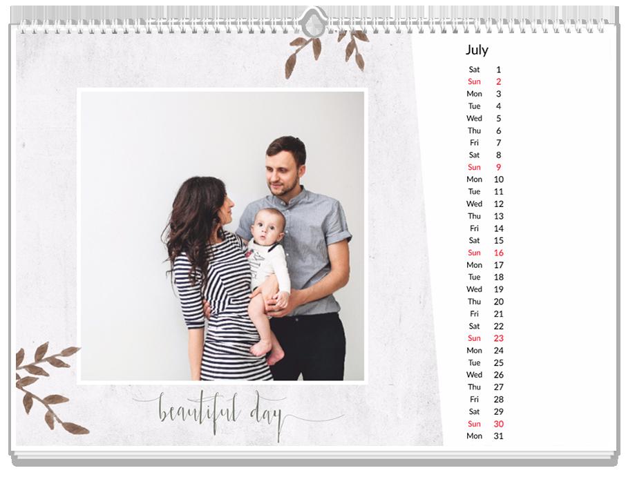 Fotokalendarz Miłość i rodzina