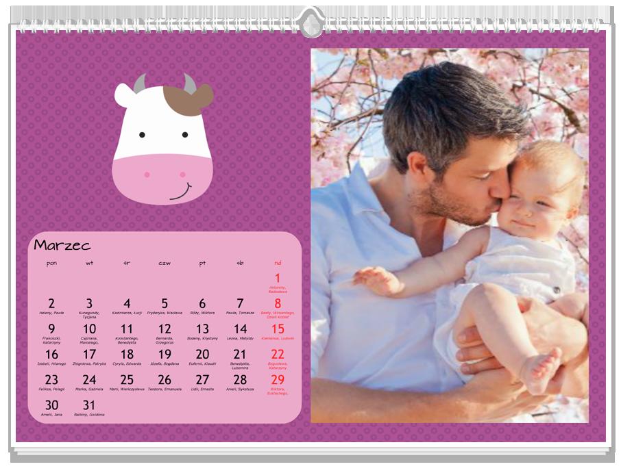 Fotokalendarz Mini zoo