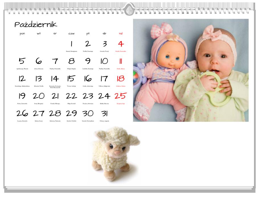 Fotokalendarz Pluszaki