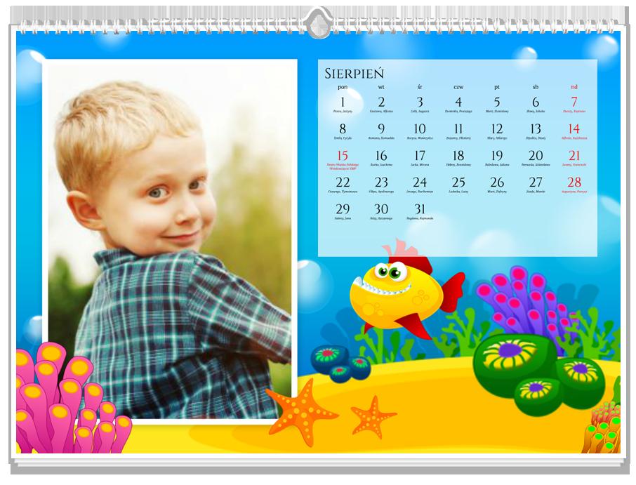 Fotokalendarz Potworki