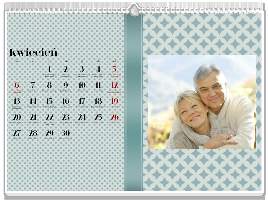 Fotokalendarz Uniwersalny