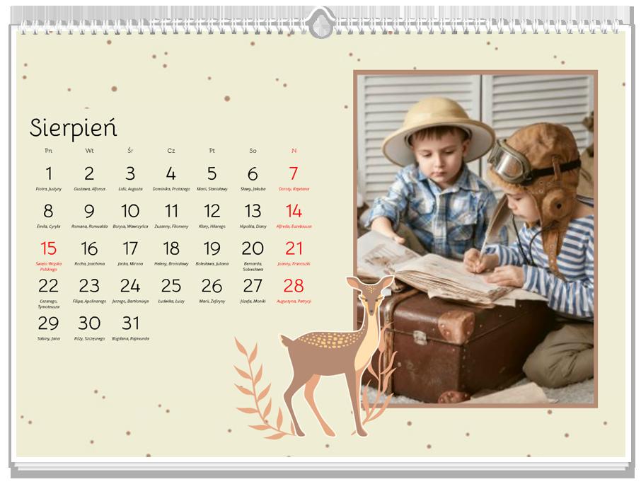 Fotokalendarz Woodland Story