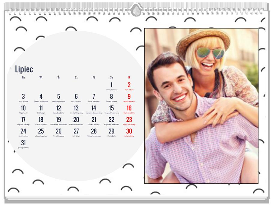 Fotokalendarz Wzorki