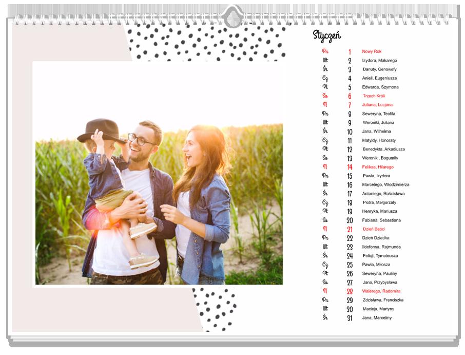 Fotokalendarz Yearbook