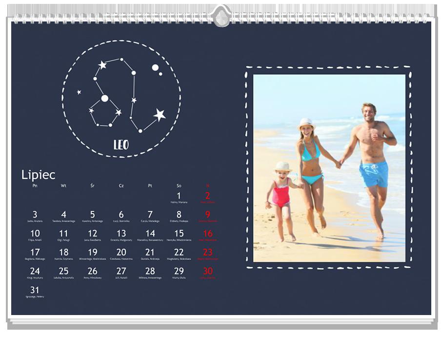 Fotokalendarz Znaki zodiaku