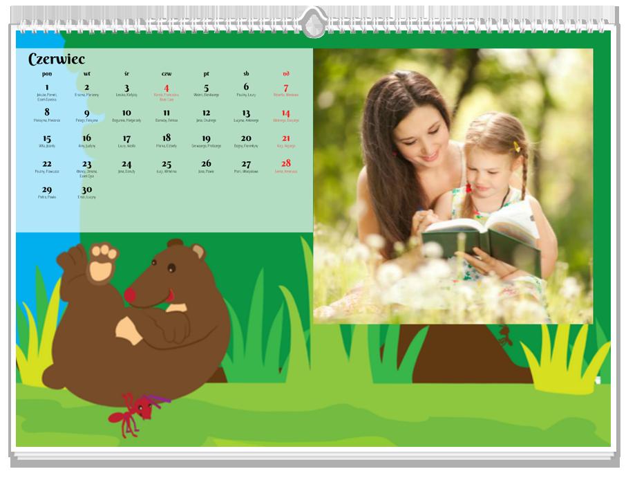 Fotokalendarz Zwierzaki