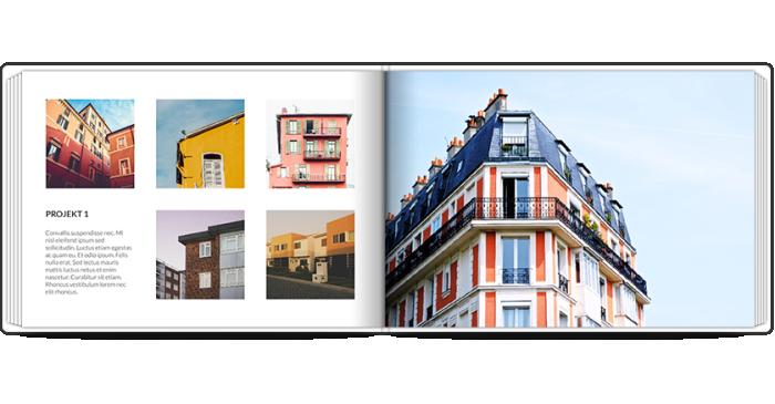 Portfolio architekta