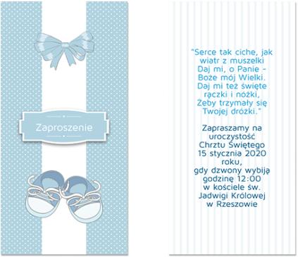 Niebieskie buciki
