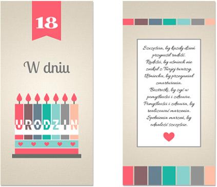 Urodzinowe świeczki