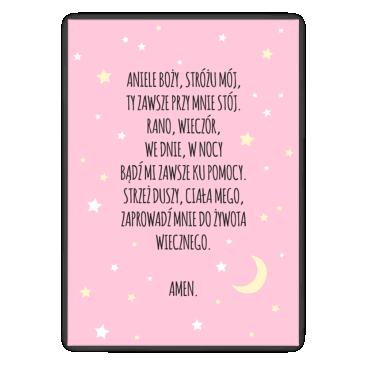 Aniele Boży - różowy
