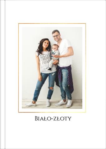 Fotoksiążka Biało-złoty