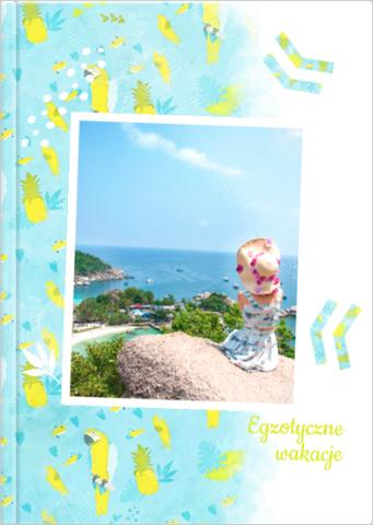 Fotoksiążka Egzotyczne wakacje