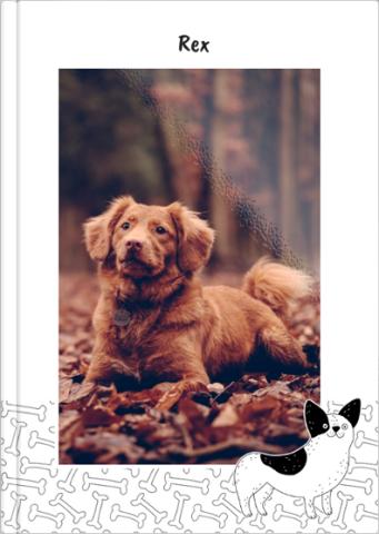 Fotoksiążka Fotoksiążka z psem
