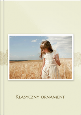 Fotoksiążka Klasyczny ornament