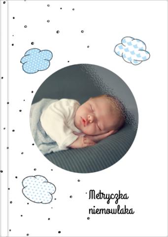 Fotoksiążka Metryczka niemowlaka