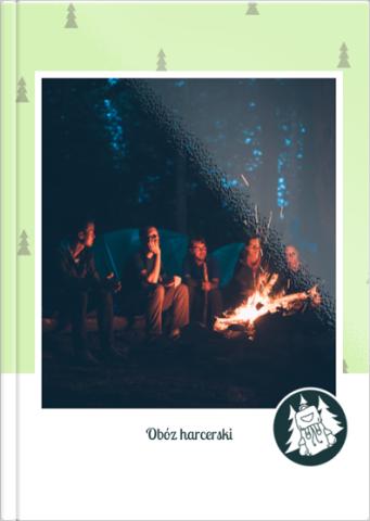 Fotoksiążka Obóz harcerski
