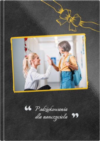 Fotoksiążka Podziękowania dla nauczyciela