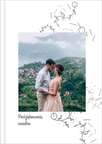 Fotoksiążka Podziękowania weselne