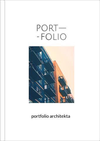 Fotoksiążka Portfolio architekta