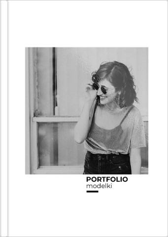 Fotoksiążka Portfolio modelki