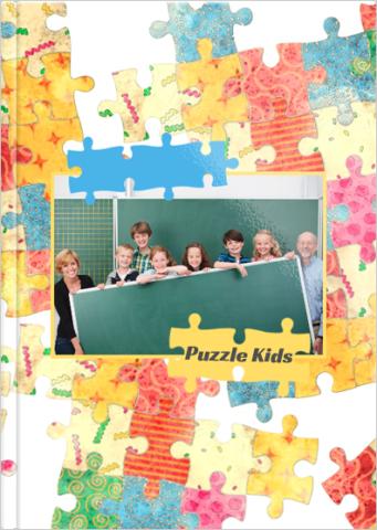 Fotoksiążka Puzzle Kids