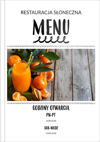Fotoksiążka Twoje menu