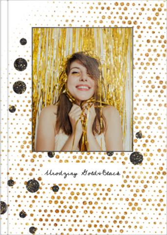 Fotoksiążka Urodziny Gold&Black