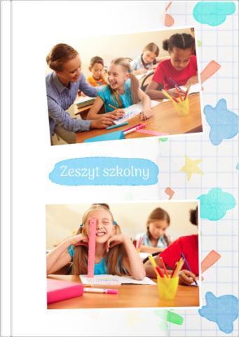 Fotoksiążka Zeszyt szkolny