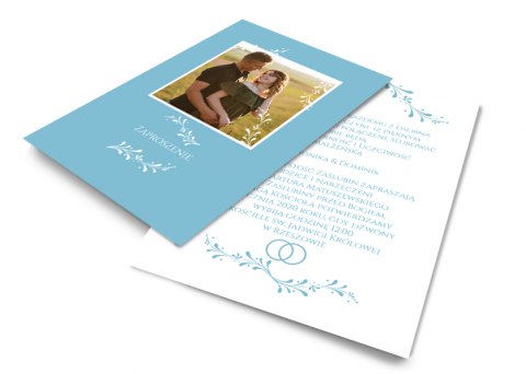 Fotoksiążka Blue Wedding