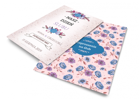Fotoksiążka Violet Flowers